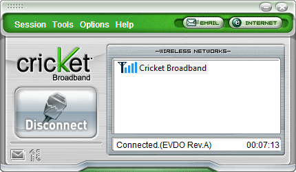 Cricket Dial Applet